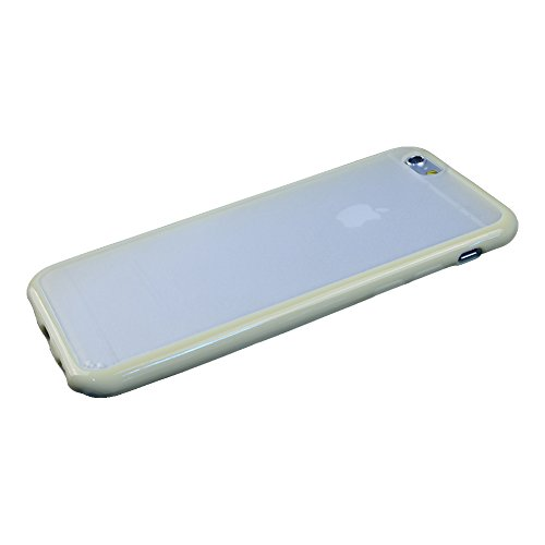 iPhone 6 Hard Case-Apexel Super Slim Frosted Translucent Plastic Silicone Back Case Cover for iPhone 6 White