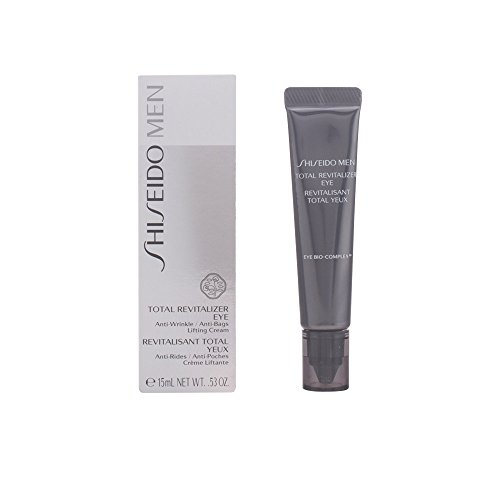 Shiseido Total Revitalizer Eye Cream for Men, 0.53 oz Men Total Revitalizer