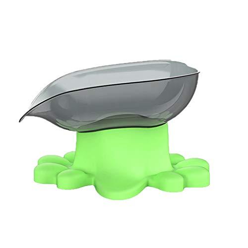 eiaagi New Acrylic Protect Dog Gums Bowl, Slow Food Bowl Large Dog Pet Feeder Pets (Green) ()