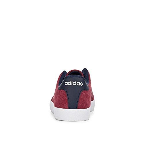 Adidas De Chaussures Rouge Court maruni buruni buruni Fitness Vulc Homme 1pxUrp