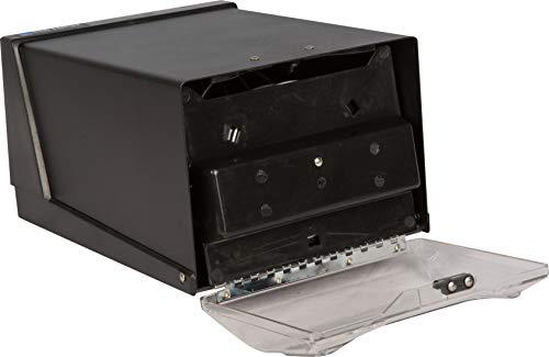 San Jamar H3001 Countertop Fullfold Napkin Dispenser, 300 Capacity, 7-5/8
