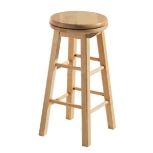 Stools Online Wooden Bar Stool  sc 1 st  Amazon UK & Stools Online Wooden Bar Stool: Amazon.co.uk: Kitchen u0026 Home islam-shia.org