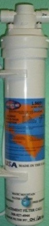 L5551 Replacement Water Filter Cartridge (Twist Off 1/4 Turn) by Magic Mountain Water (Mountain Replacement)