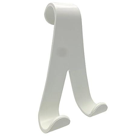 Wenko 4468160100 Hook for Towel Heaters Plastic Set of 2 2.5 x 10.5 x 7 cm