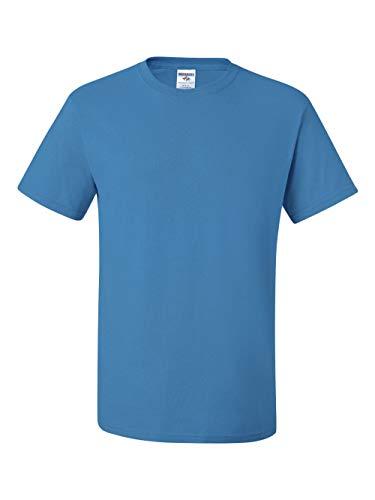 Light Blue Reversible T-shirt - Jerzees 5.6 oz., 50/50 Heavyweight Blend T-Shirt, 5XL, CALIFORNIA BLUE