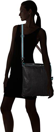Gabs Monospalla Bolso L Mujer nero Escudo Trasf Sofia Negro Tg CBrRxUC