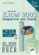 Microsoft Excel 2003, Diagramme und Charts, m. CD-ROM