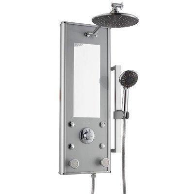 Pulse 1036-S Shangri-La Showerspa Retrofit 6-Jet Shower System