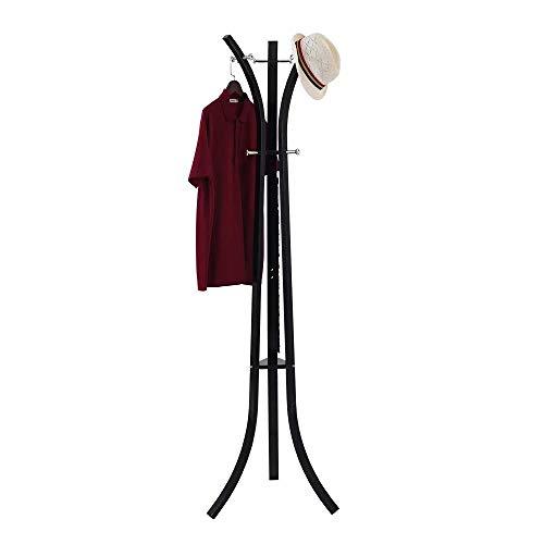 Amazon.com: SUNPACE High-Grade Black Coat Rack Stand ...