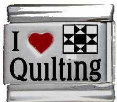 I Heart Quilting Red Heart...