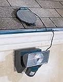 Floodlight Solar Powered Motion Activated. 20 Watt Halogen Bulb Security Flood light