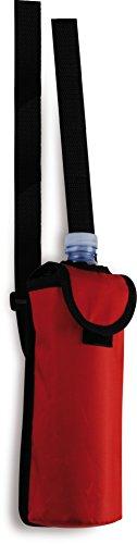 5x7 Cm Borsa 50 Con Blu Cl Tracolla Rosso Mini Termica Regolabile Per 9x20 Colore Bottiglie Da FCPF7