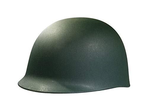 Nicky Bigs Novelties Adult Army Helmet Costume, Olive Drab Green, One -