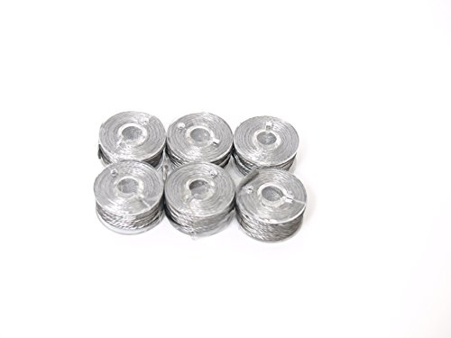 Conductive Stainless Steel Thread. 6 Pack Perfect for Hand Sewing. Works with Grounding Earth Connection Fabrics. Wearables, RFID and EMF Fabrics by Assurance Fabrics