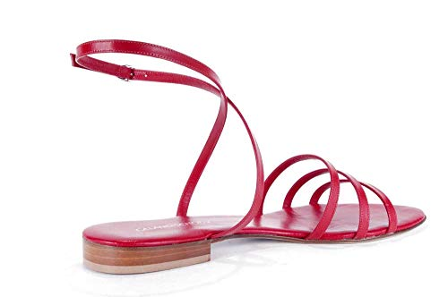 Femme Pour Rouge Caland Sandales schoen qwtxZWRTzO