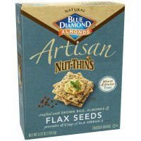 Nut Thins Flax Seed Artisan 4.25 Oz (Pack Of 12 )