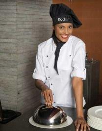 Partyzwerge - Cappello da chef personalizzato con nome ricamato ... c74bb3a8de1f