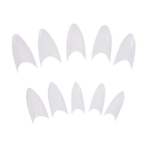 sodialr-500pcs-sharp-ending-stiletto-glitter-color-false-nail-tips-acrylic-nail