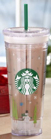 Starbucks 2011 Holiday COLD CUP Create your Own Cup Insulated 24 oz by Starbucks