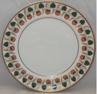 Mottahedeh Strawberry Vine Dinner Plate