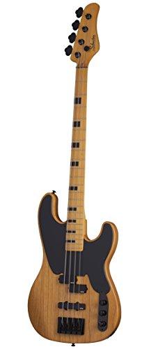 schecter 2848 4 string solid body electric guitar aged natural satin buy online in uae. Black Bedroom Furniture Sets. Home Design Ideas