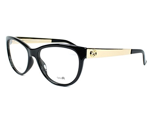 Optical frame Gucci Optyl Black - Gold (GG 3742/N 6UB) by Gucci