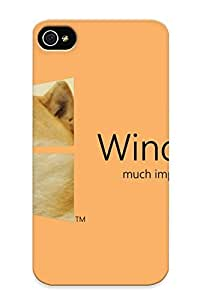 New Fashionable Eatcooment ELmTkRI1793OPNUy Cover Case Specially Made For Iphone 4/4s(windoge 8) by icecream design