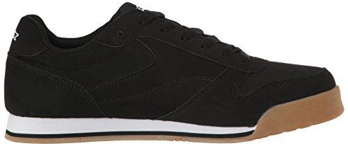 Lugz Heren Matchpoint Fashion Sneaker Zwart / Wit / Gom