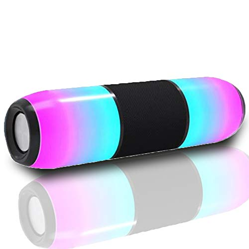 Zqasales Multi-Color Waterproof Bluetooth Speaker USB Flash Drive with Double Horn Card Portable Outdoor Sports Radio