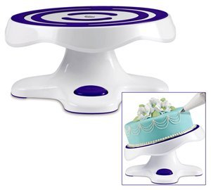 ... spinning cake stand wilton revolving cake stand tilting cake stands ...  sc 1 st  Infomasif & spinning cake stand - rotating cake stands ebay how to crumb coat a ...