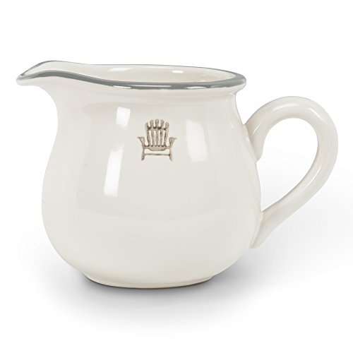 Abbott Collection Weekend Stoneware Pitcher, Small (Cream Small Jug)