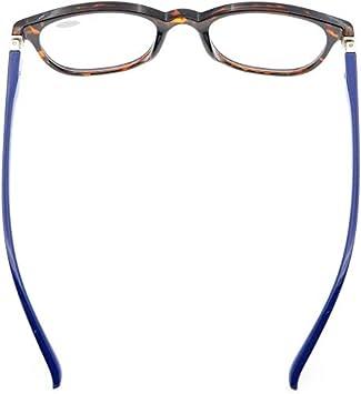 Eyekepper Readers Men Women Reading Glasses Unique 180 Degree Spring Hinges Blue 2.5