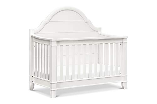 Classic Sullivan 4 in 1 Convertible Crib, Warm White ()