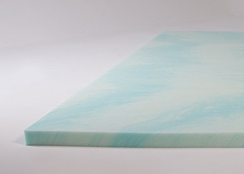 Dreamfoam Bedding 2 Gel Swirl Mattress Toppers