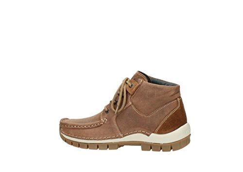 à 10430 Cognac Chaussures Wolky lacets Seamy Cross Nubuck Comfort Up nCfvwPAx