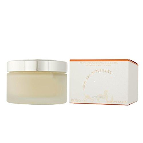 Hermes Eau Des Merveilles Marvelous Body Cream for Women, 6.5 Ounce