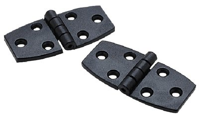 Seachoice Nylon Utility Hinges with Stainless Steel Pin 3 In. X 1-3/8 In. 2 / Card