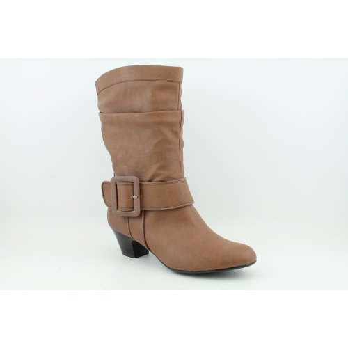 Style & Co Esme Womens Size 5.5 Brown Fashion Ankle Boots