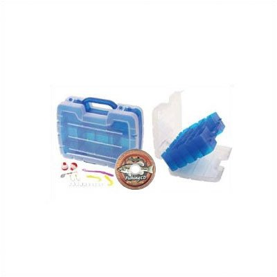 Flambeau Tackle Kids Satchel Tackle Box (Blue  11.25x3.5x9.25-Inch)