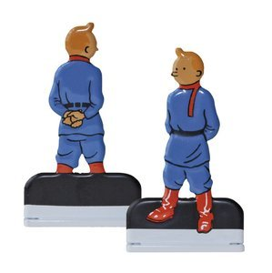 Moulinsart Tintin in The Land of The Soviets Relief Statue