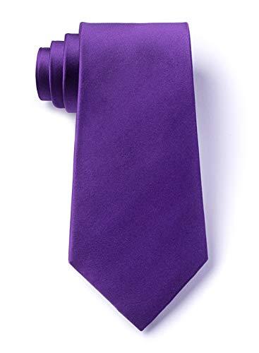 (Royal Purple Royal Purple Silk Tie)