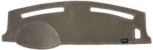 Dash Designs D0055-1VGY Grey Plush Velour Dash Cover