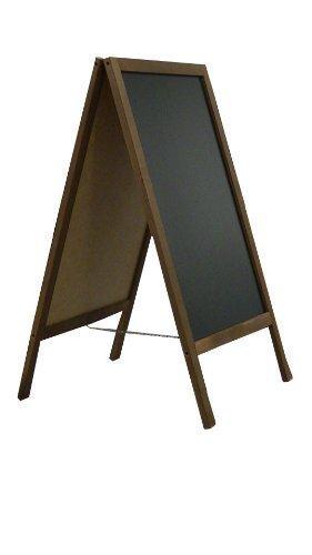 """Planche en bois de trottoir ardoise tableau valeur """"- 100 cm x 60 cm TOP nouveau vendeur! CODE FL2!"""