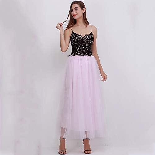 NVDKHXG Moda de Primavera para Mujer de Encaje Estilo Princesa de ...