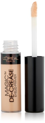 L'Oréal Paris Magic De-Crease Eyelid Primer, Good Eyeshadow Primer Apply Before Eyeshadow