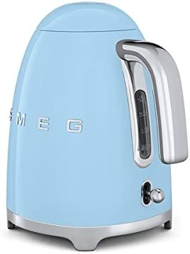 Smeg 1.7L Cordless Kettle - Duck Egg Blue