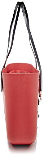 Rosso OBAG sac à main B001 076 Multicolore WpqZpgCw