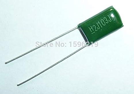 1x 10nF 630V 103 2J103J 5/% Metall Film Folien,Kondensator,Polypropylen Z630