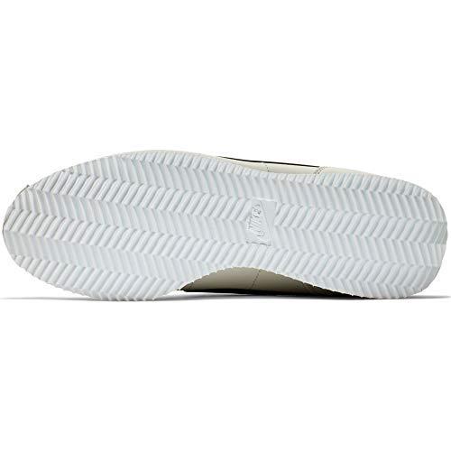 Nike 819719-003: Cortez Basic Light Bone/Black-White Sneakers (9.5 D(M) US Men)