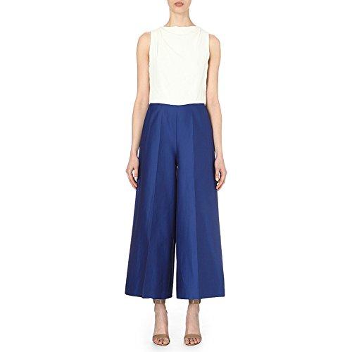pianoforte-by-max-mara-womens-puma-contrast-silk-jumpsuit-8-white-cobalt